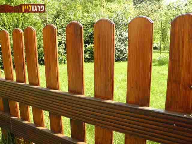 מצטיין גדר עץ לגינה ולחצר במחיר מבצע, הכי זולה בארץ! | פרגוליין JB-07